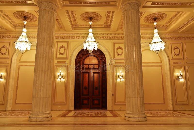 The Parliament - Interior stock images