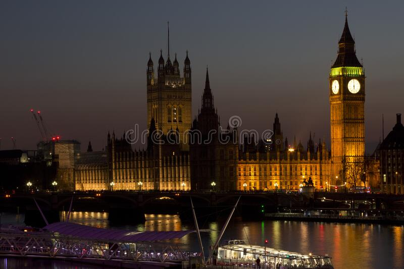 The Parliament During Nightime Free Public Domain Cc0 Image