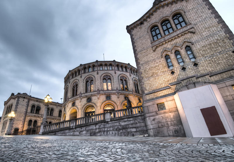 Download Parliament of Norway stock photo. Image of statue, brick - 15470942