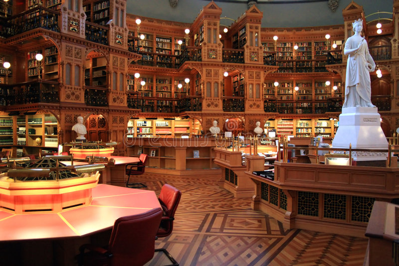 Parliament's National Library. royalty free stock image