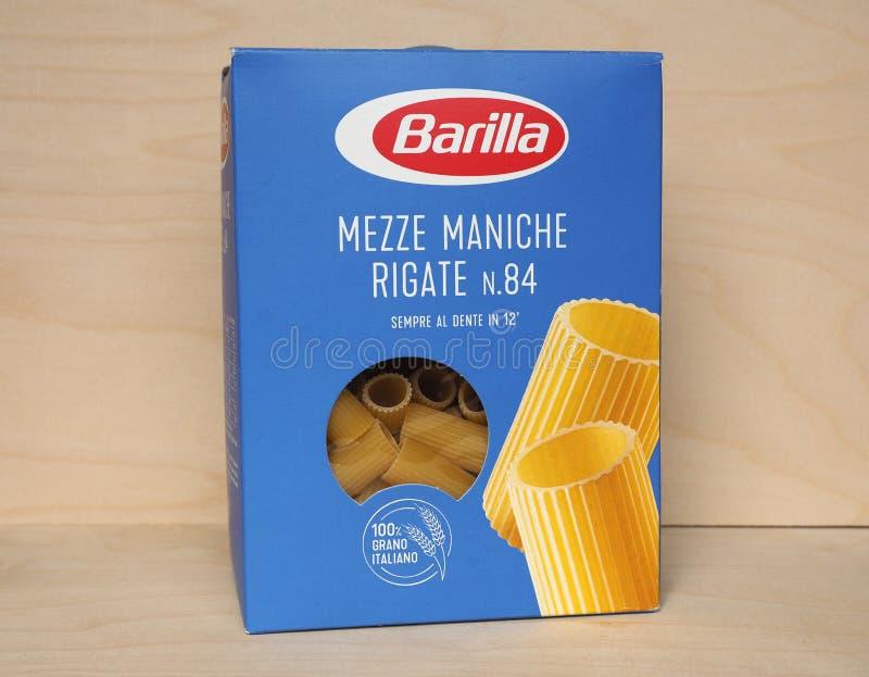 PARMA - 2020年4月:意大利面包 库存照片