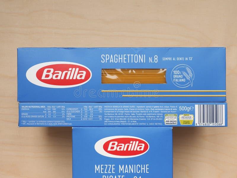 PARMA - 2020年4月:意大利面包 免版税库存照片