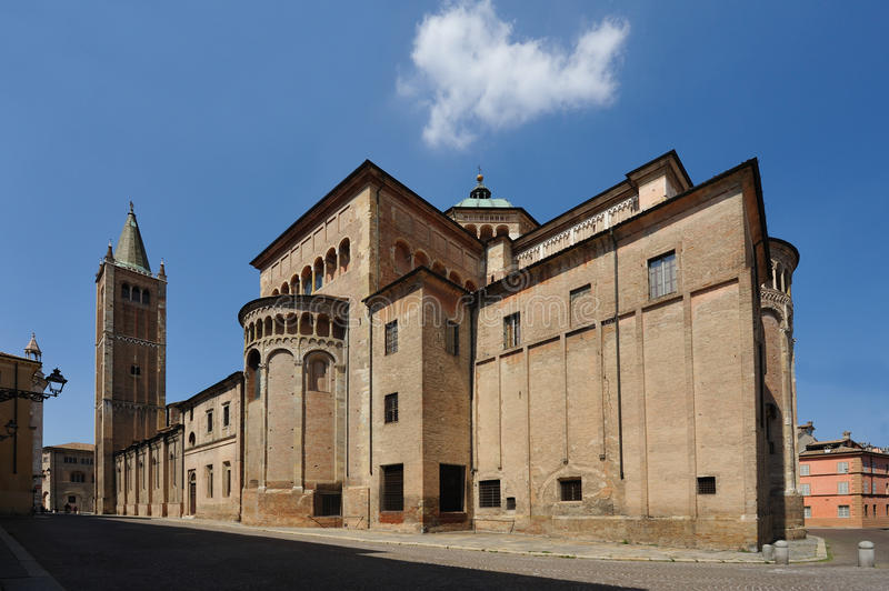Parma Cathedral stock images