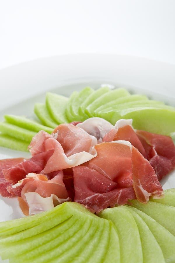 Parma ham stock photos