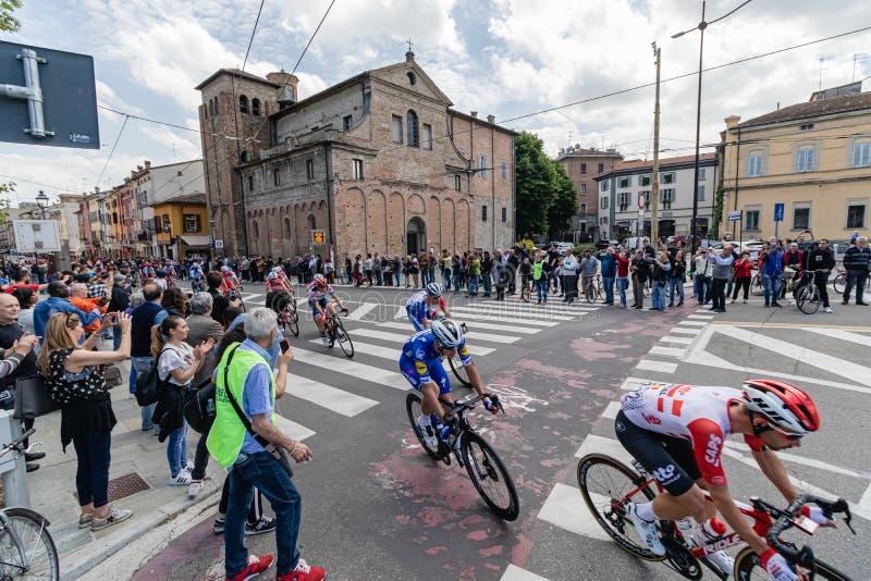 Parma, Italia - 22 de mayo de 2019: Giro d ?Italia fotos de archivo libres de regalías