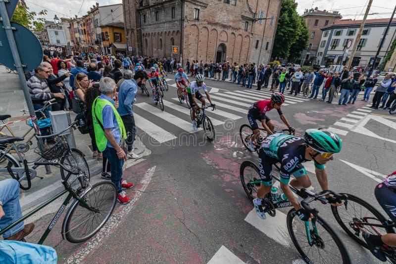 Parma, Italia - 22 de mayo de 2019: Giro d ?Italia foto de archivo libre de regalías