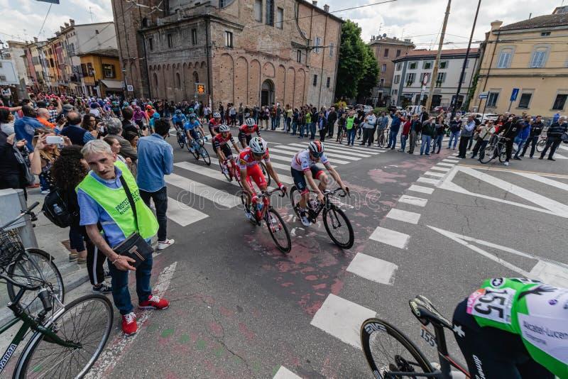 Parma, Italia - 22 maggio 2019: Postagiro d ?Italia fotografie stock