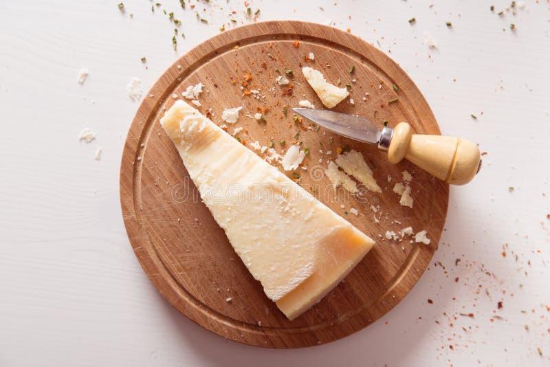 Parmesan cheese royalty free stock photo