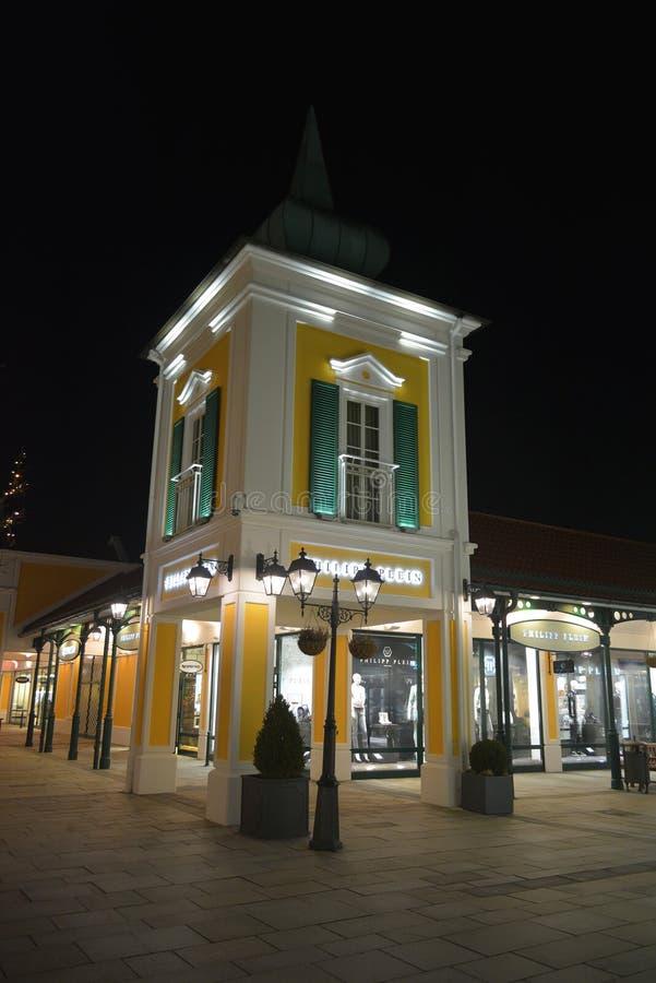 Parndorf przy nocą Austria13 obraz stock