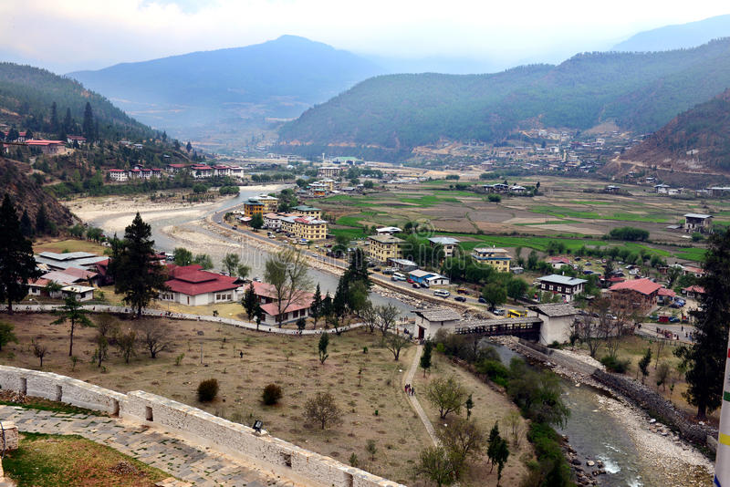 Download Paro City Of Bhutan Editorial Photography Image Tourism