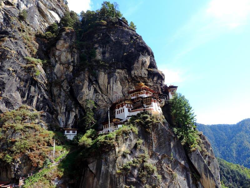 Paro Taktsang Бутана стоковая фотография rf
