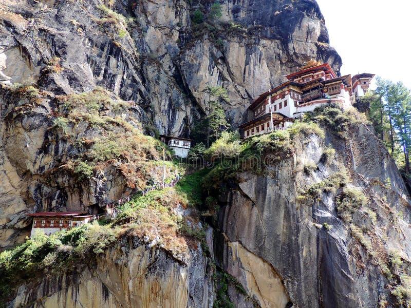 Paro Taktsang Бутана стоковые изображения rf