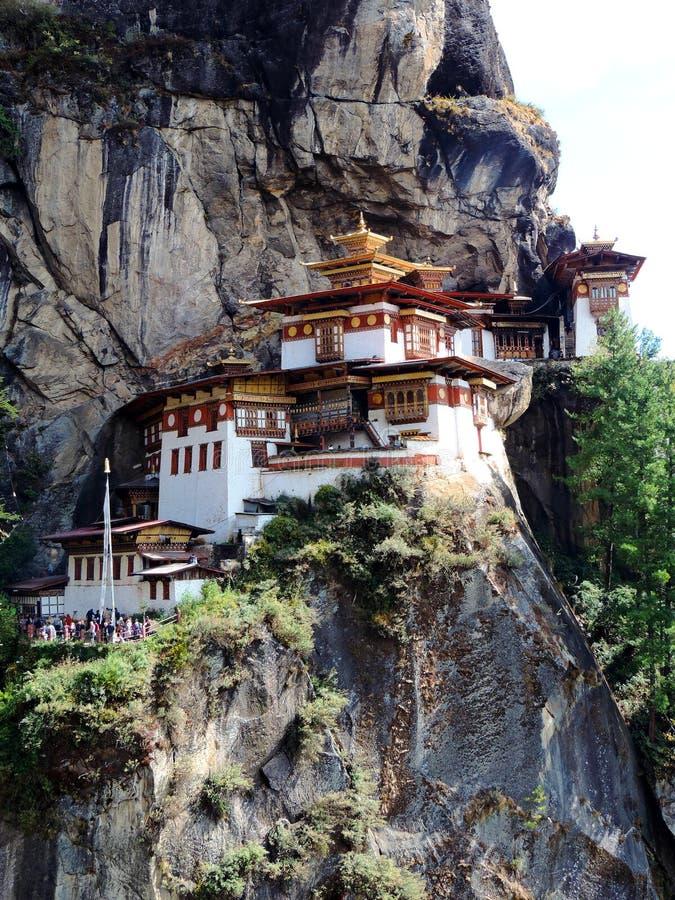 Paro Taktsang Бутана стоковые фотографии rf