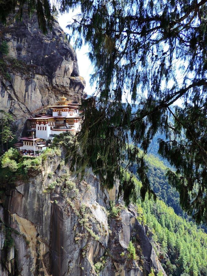 Paro Taktsang Бутана стоковое фото rf