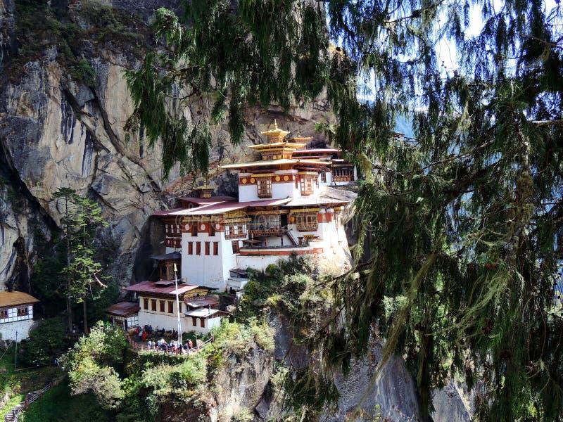 Paro Taktsang Бутана стоковые изображения