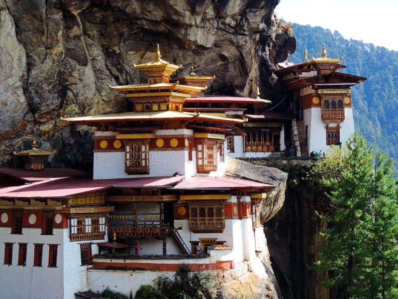 Paro Taktsang de Bhután imágenes de archivo libres de regalías