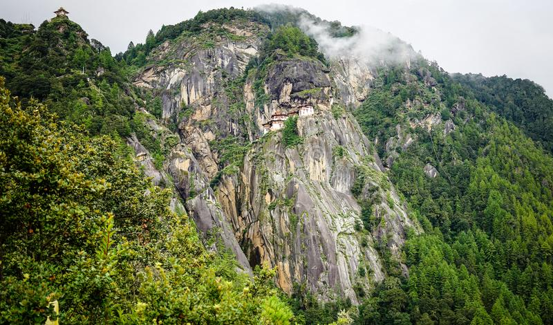 Paro Taktsang Tiger Nest in Bhutan royalty free stock image