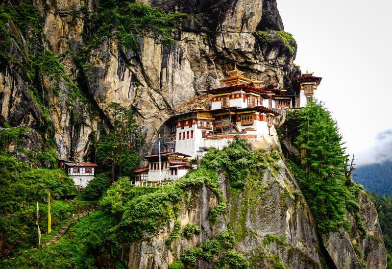 Paro Taktsang Tiger Nest in Bhutan stock image