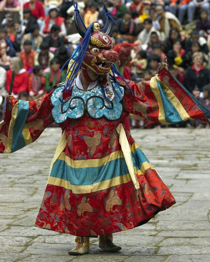 Paro Tsechu - The Kingdom of Bhutan stock images