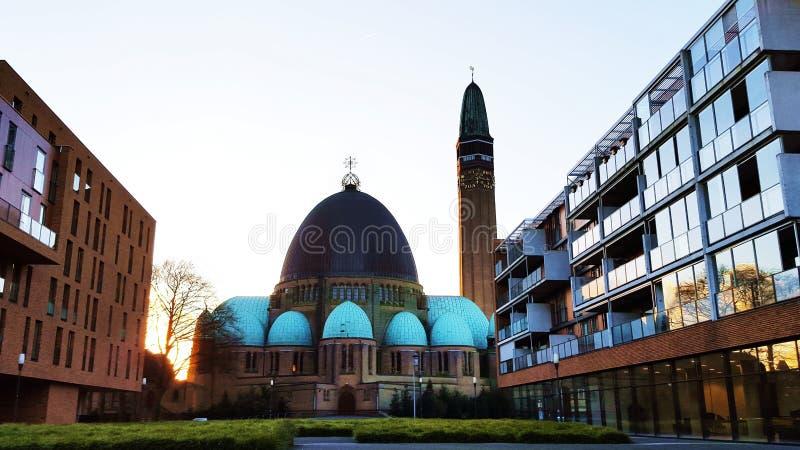 Parochie Sint Jan De Doper Waalwijk zdjęcia royalty free