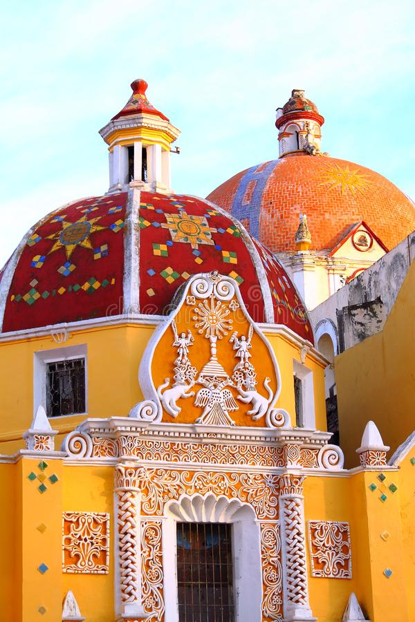 Parochie van Santa Maria natividad III stock fotografie