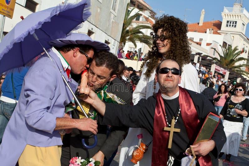 Parodie au sujet du mariage homosexuel controversé pendant photo libre de droits