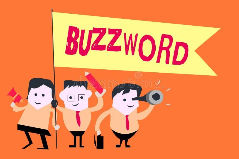 Parola alla moda del testo di scrittura di parola Concetto di affari per l'espressione comunemente molto usata spesso alla moda d illustrazione di stock