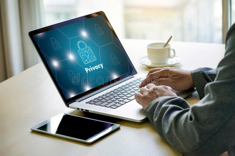Parola d'ordine Passcod dell'identificazione di PRESTAZIONE di connessione di Access di segretezza immagini stock libere da diritti