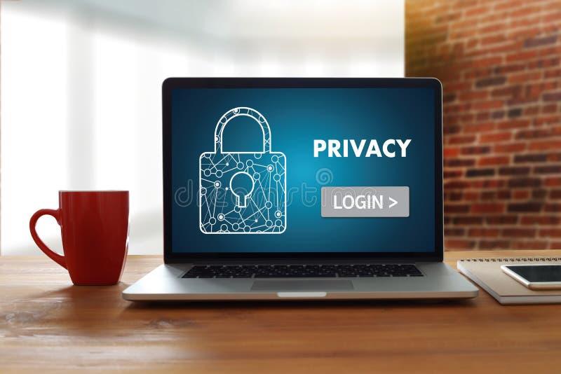 Parola d'ordine Passcod dell'identificazione di PRESTAZIONE di connessione di Access di segretezza immagini stock