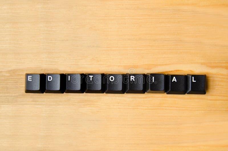 Parola editoriale fotografia stock libera da diritti