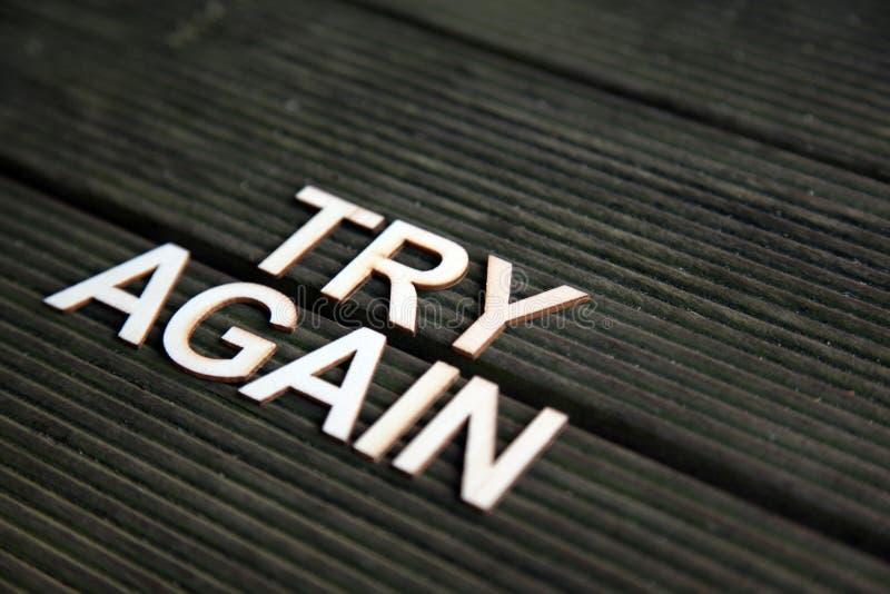 Parole Encouraging immagine stock