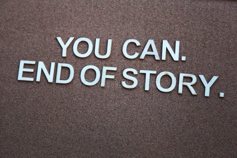 Parole Encouraging fotografia stock
