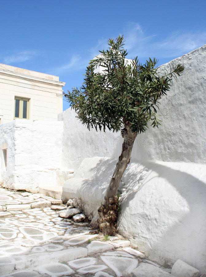 paros острова Греции стоковые фото