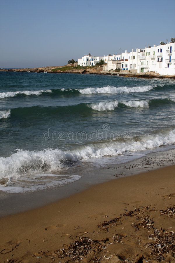paros greece fotografia stock