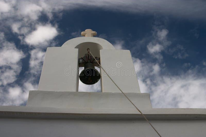 Paros, Greece, church, belltower with bells