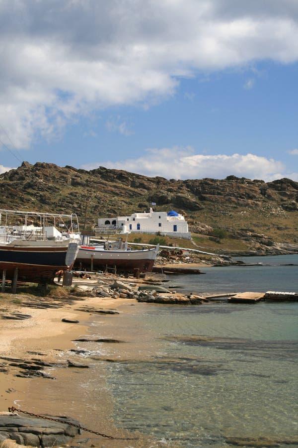 Paros, Griekenland stock foto's