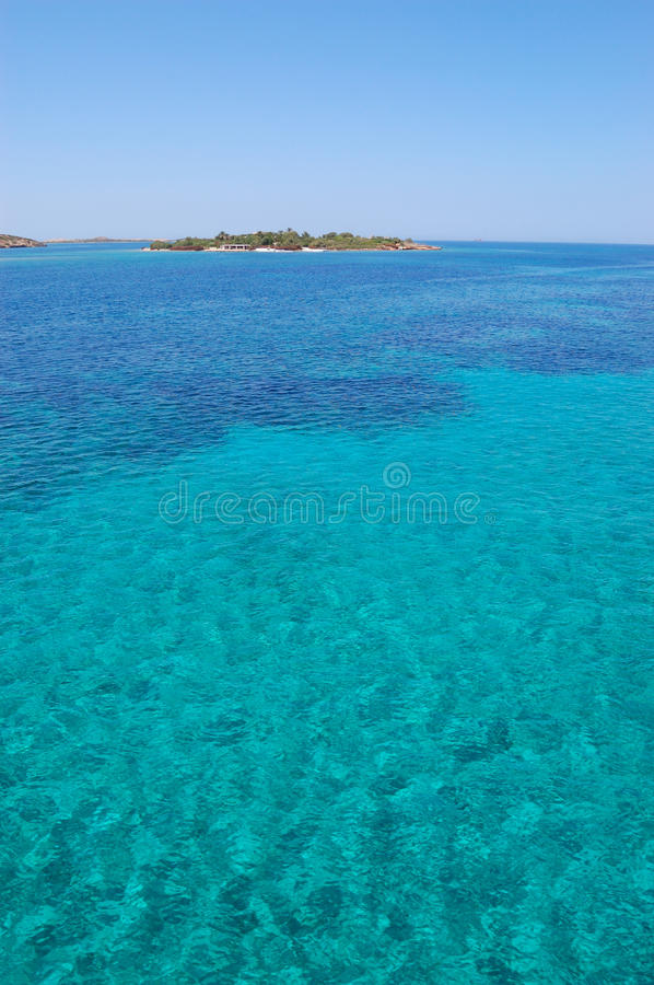 Paros Island Sea View Stock Images