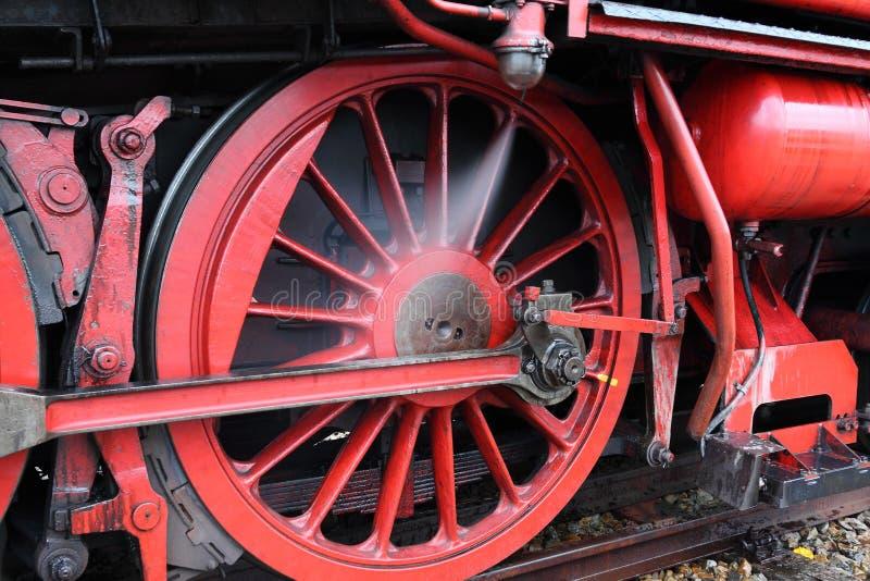 Parostatku lokomotoryczny koło obrazy royalty free