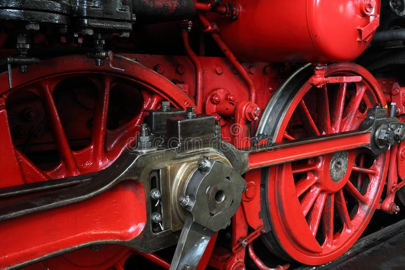 Parostatku lokomotoryczny ko?o obraz stock