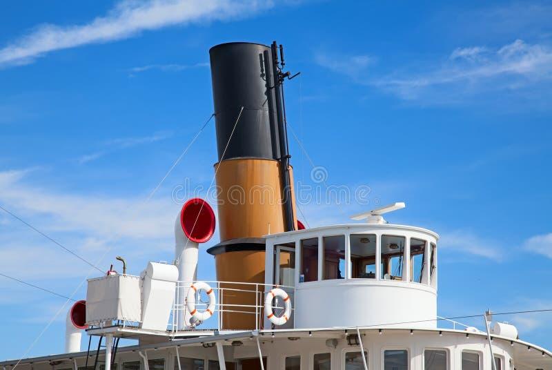 Parowa łódź obrazy stock