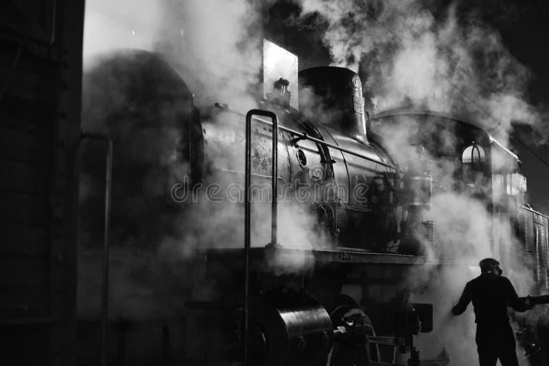 Parowa lokomotywa zdjęcia stock