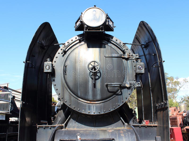 Parowa lokomotywa X 36 obraz royalty free