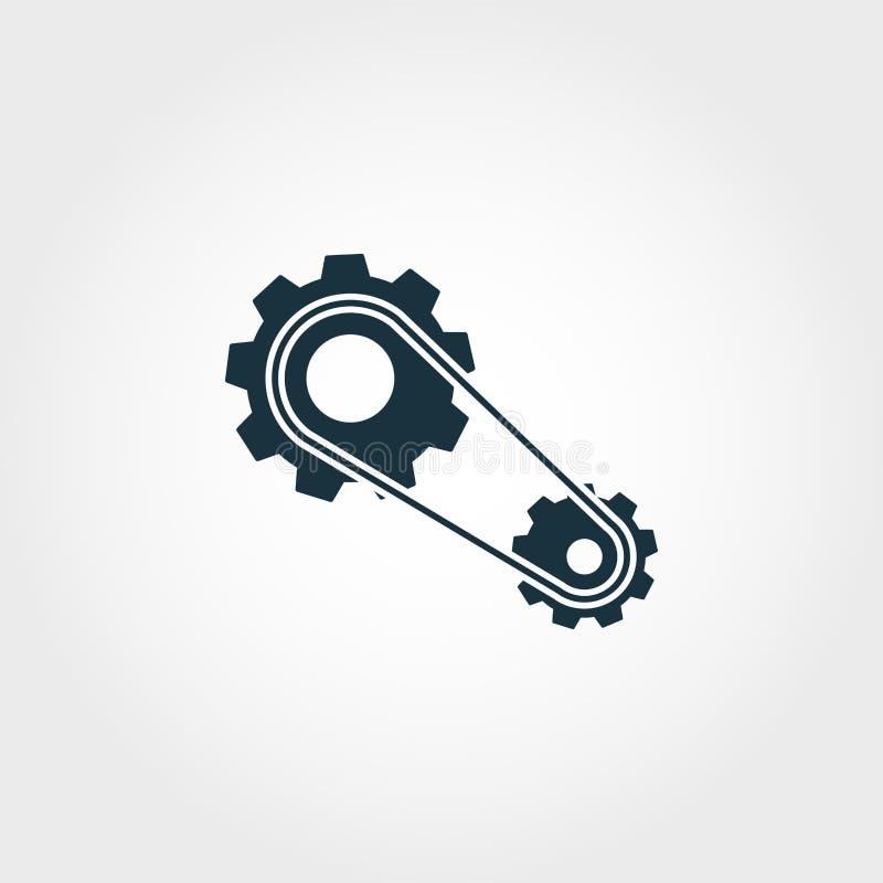 Parowozowa ikona Premii ilości elementu ilustracja od samochodu rozdziela kolekcję Parowozowa monochromatyczna ikona Doskonalić d royalty ilustracja