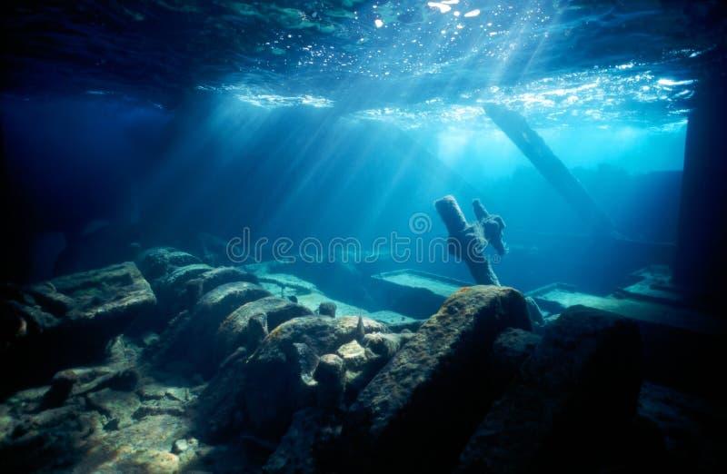 parowozowego pokoju shipwreck zdjęcia stock