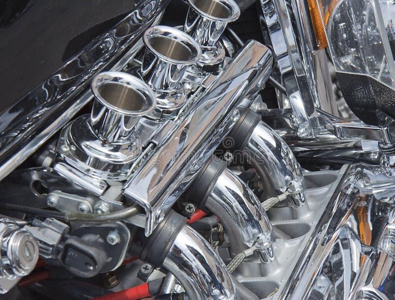 parowozowy motocykl obrazy stock