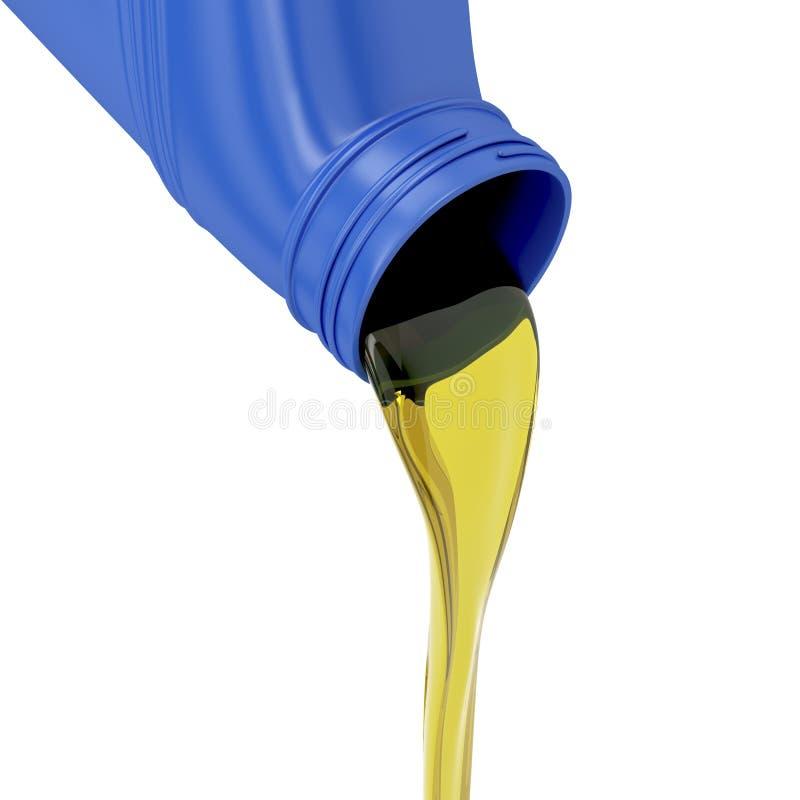 Parowozowy olej ilustracja wektor