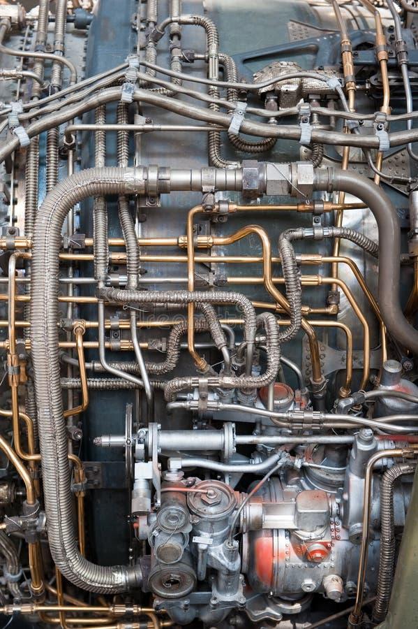 parowozowych wąż elastyczny dżetowe instalaci wodnokanalizacyjnej tubki zdjęcie royalty free