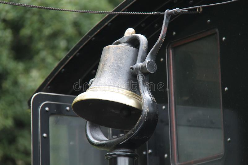 Parowy Taborowy Bell zdjęcie stock