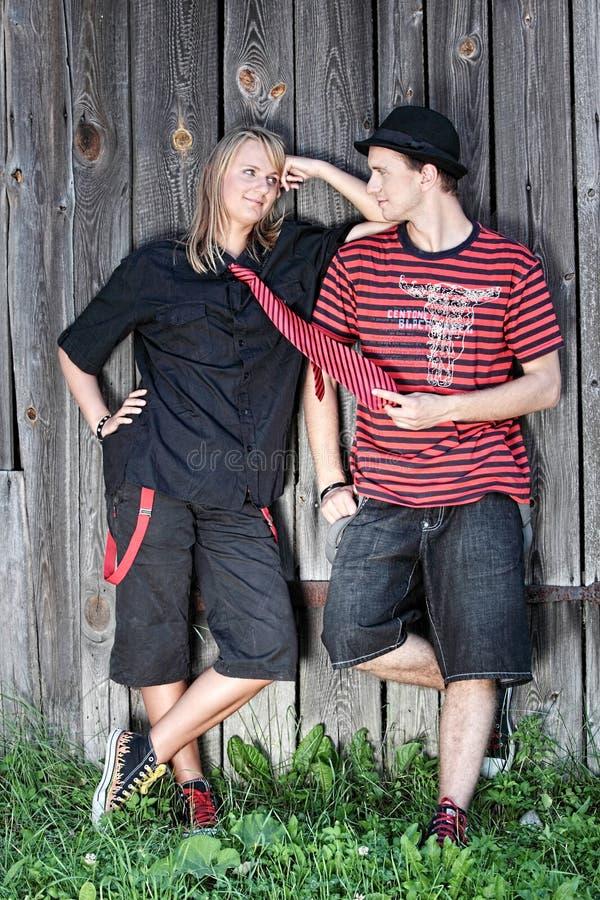 parpunk fotografering för bildbyråer