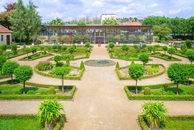 Parque Ansbach Alemania fotografía de archivo